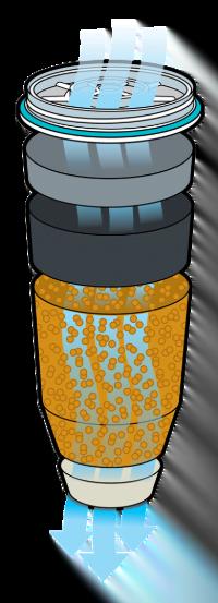 5 stegs vattenfilter